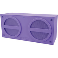 iHome Bluetooth Wireless Stereo Mini Speaker With Rechargeable Battery (Purple)