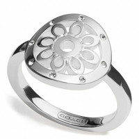 STERLING SIGNATURE C DISC RING
