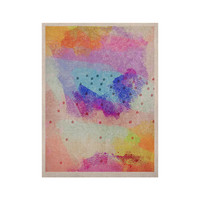 """Iris Lehnhardt """"Summer Pastels"""" Multicolor Painting KESS Naturals Canvas (Frame not Included)"""