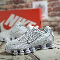 Nike SHOX TL Women Men Fashion Casual Sneakers Sport Shoes