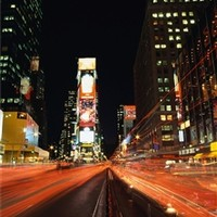 Speed of Life Times Square Wall Art - Peel N Stick Products For Dorms Cool Items For College College Wall Decorations