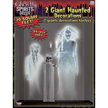 Giant Haunted Wall Decorations
