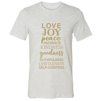 Fruit Of The Spirit Christian Jersey T-Shirt