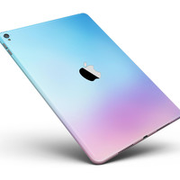 """Subtle Tie-Dye Tone Full Body Skin for the iPad Pro (12.9"""" or 9.7"""" available)"""