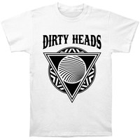 Dirty Heads Men's  Burial Slim Fit T-shirt White