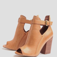 Bizarre Peep Toe Booties By Chinese Laundry