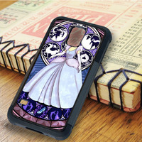 cinderella stained glass cinderella Princess   For Samsung Galaxy S5 Cases   Free Shipping   AH0151