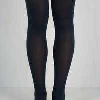 Solid Decision Tights Size OS by ModCloth