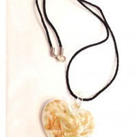 Sands of Time Murano Glass Pendant Necklace | christinepurr - Jewelry on ArtFire
