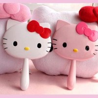 New Hello Kitty Hand Mirror Make Up Set yey-0172