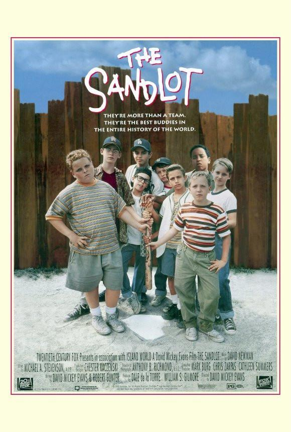 Image of The Sandlot 27x40 Movie Poster (1993)