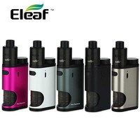 100% Original Eleaf Pico Squeeze With Coral Starter Kit 50W Pico Squeeze Mod & Coral RDA Atomizer With Reimagined Squonk System
