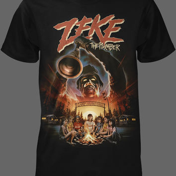Zeke The Plumber [01177] - $21.95 : Horror T-Shirts : FRIGHT-RAGS, Horror Shirts