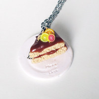 Cake - made with love - necklace