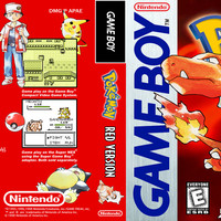 Pokemon Red - GameBoy (Ugly Game Only - Saves)