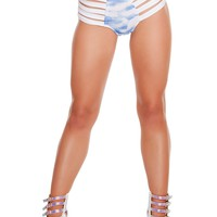 Cloud Strappy High-Waist shorts