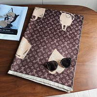 LV autumn and winter new warm long shawl scarf