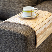 Sofa Tray Table natural by LipLap on Etsy
