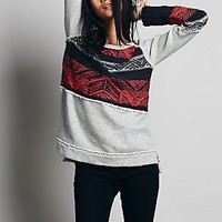 Free People Womens Snow Angel Pullover