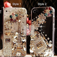 iPhone 4S Case for iPhone 5 Case iPhone 5S Bling Case iPhone 5C Case iPhone 3 Case Bling iPhone 4 Case for iPhone 3G Bling Case Prefume