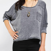 Urban Outfitters - Sparkle & Fade Burnout Sweatshirt