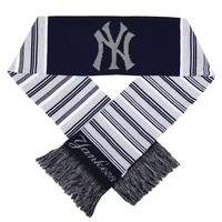 New York Yankees Glitter Stripe Scarf
