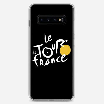 Le Tour De France Bicycle Bike Cycling Samsung Galaxy S10 Plus Case