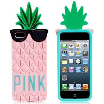 PINK Pineapple 3D iPhone Case