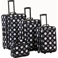 Rockland Luggage Style Right 4 Piece Luggage Set - eBags.com