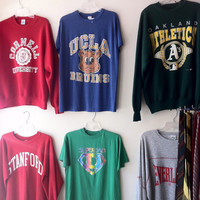 Random, Mystery Hipster Vintage College/University Shirt