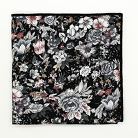 Floral Shades Pocket Square