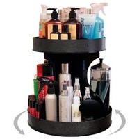 "Professional Stylists and ""Divas"" Will Love 15"" Wide, Spinning Cosmetic Organizer. Great for Salons or for Cosmetic Divas! Made by PPM in the USA!: Beauty"