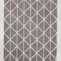 Assembly Home Elin Tufted Rug- Grey 5X7