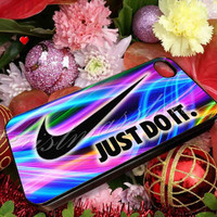 Just Do It Nike - for iPhone 4/4s, iPhone 5/5s/5c, Samsung S3 i9300, Samsung S4 i9500 Hard Case