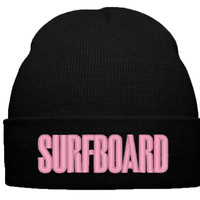 BEYONCE SURF BOARD THE BEAT BEANIE HAT