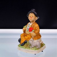 Waco Japan Melody In Motion Happy Birthday Willie The Hobo Music Box Vintage 80s