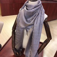Perfect LV Women and Men Fashion Accessories Sunscreen Cape Scarves Silk Scarf LV shawl q_1689347108