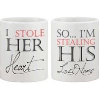 Stealing His Last Name Mug Cups for Newlywed