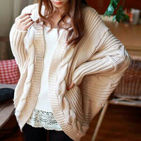 White Cable Knit Sweater Fisherman Sweater Wool Sweater Womens Sweater Cream Sweater Oversized Sweater Winter Sweater Chunky Sweater