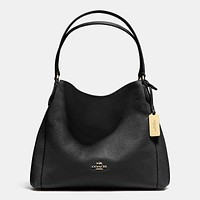Coach Women Shopping Leather Handbag Tote Shoulder Bag