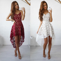 Lace Stylish Hot Sale Summer Fashion One Piece Dress