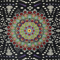 Sunshine Joy 3D Hypno Moons Tapestry Wall Hanging Trippy Table Cloth Magical Dorm Decor - Huge 60x90 Inches