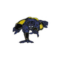 Beast X-Men Embroidered Iron-On Patch