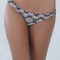 Billabong Jammin Geo Tropic Skimpy Bikini Bottom - Womens Swimwear - Tribal