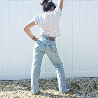 Vintage High Waisted LEVI'S 505 Jeans - Unisex - 31 x 32 or US 3 / 4 / 5