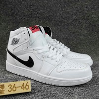 Women's and Men's NIKE Air Jordan 1 generation high basketball shoes  002