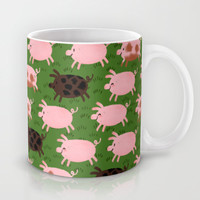 Pigs Mug by Paper Bicycle Creative