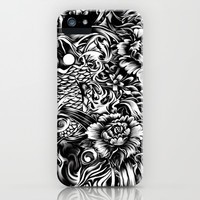 An underwater dream, Japanese koi art iPhone & iPod Case by Kristy Patterson Design
