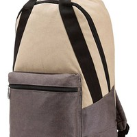 Junior Women's Volcom 'On the Go' Canvas Backpack - Blue