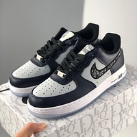 Dior x Nike Air Force 1 Low Dior joint low-top all-match casual sports shoes for men and women
